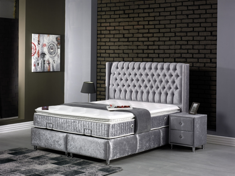 NEW MONTANA Boxspringbett mit Bettkasten