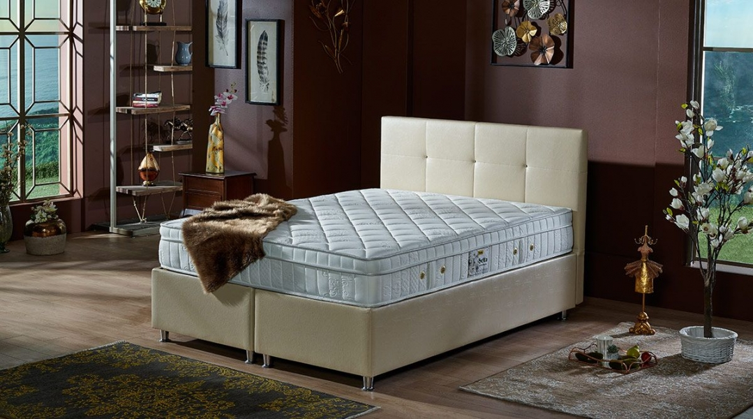 ATLANTIS Boxspringbett mit Bettkasten